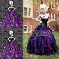 Custom-made The little mermaid Sea Witch Ursula Dress Princess Dress Cosplay Costume
