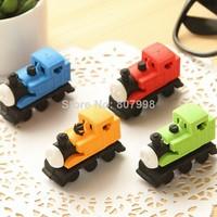 2014 Design Funny Cute Car Loco Locomotive Pencil Erase Rubber Kid Student School Children Gift Toy Office Eraser