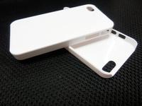 White Plain Plastic Hard Back Skin Case Cover for iPhone 4 4S 5 5S Free DHL Shipping 100 pcs/lot