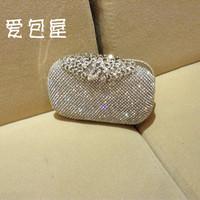 Luxury classical noble fashion rhinestone high quality  bag day clutch bridal bag bridesmaid bag evening bag
