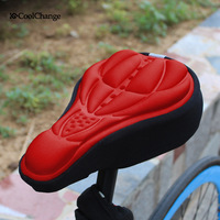 2014 New Free Shipping Mountain bike seat cover road bike bicycle super soft saddle breathable comfortable cushion set