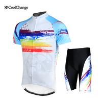 2014 New Free Shipping Ride service short-sleeve set bicycle mountain bike ride shorts male Women sitair