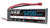 New 18.5V 5200mAh 30C Max 50C 5S 5Cells 18.5Volt RC LiPo Li-Poly Battery Free Shipping