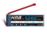 Free shipping Lion Power Lipo battery 22.2V 5200MAH 30C 6S Max 50C fast charing RC Lipo battery