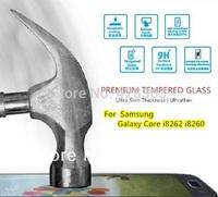 For Samsung Galaxy Core i8262 i8260 , Original Premium Tempered Glass HD Film Screen Protector Anti-Fingerprint Ultrathin