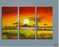 Modern Abstract hand-paint Art Oil Painting Wall Decor canvas (with framed)A435