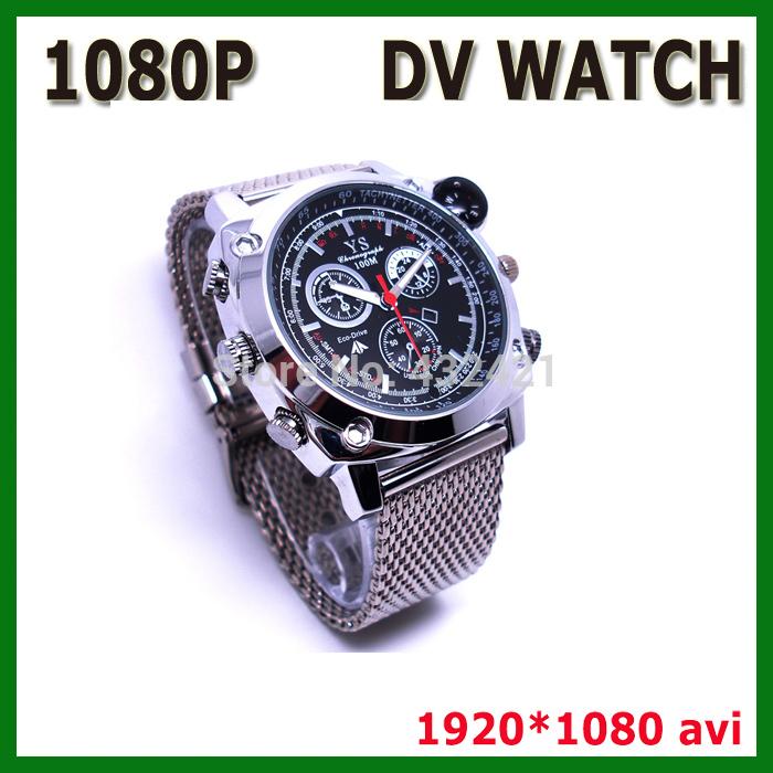 YS New 2014 mini camcorders 8GB 16GB 32GB Wrist Watch HD Hidden video Camera DV miniDV 1080P Recorder Video Watch(China (Mainland))