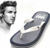 New 2014 Summer Casual Flat Sandal Slipper,Bakham Leisure Soft Flip Flops,Rubber Massage Beach Slippers Shoe For Men Size 40-44