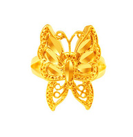 2014 New Arrival,Fress Shipping,24k Yellow Gold Plated Rings. Wholesale Fashion Jewelry.