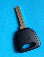Guaranteed 100% free shipping  for Volvo transponder key shell / car key blank