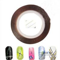 Nail painting line fine gold and silver ray nail line radium Nail polish partner