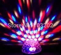 3W Vivid colour LED Rotatable bulb RGB crystal Magic ball in stage lighting