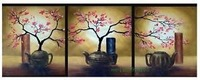 Modern Abstract hand-paint Art Oil Painting Wall Decor canvas (with framed)A478