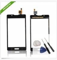 20pcs/1lot New Touch Screen Digitizer For LG Optimus L7 II  P710 touch screen Black& White Free Shipping