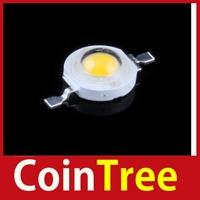 Economic benefit cointree High Power 1W LED Light Chip Energy Saving Lamp Beads 110LM 3200K Warm White DIY wholesale DIY