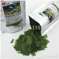 Guppy fish Spirulina tablets fish food flakes small tropical aqurium fish feed