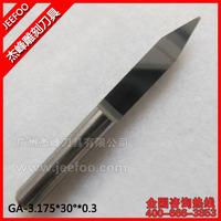 3.175*30Degree*0.2*38L Flat V Shape CNC Milling Tools/ Carbide Carving Cutter/ PCB Engraving Bit On Wood Machine