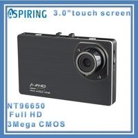Silent recording NTK96650 vehicle dash cameras