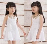 Hot Sale New 2014 Summer Children Clothing Baby Girls Clothes Girl Dress Kids Tutu Dress child Children Dress Free Shipping