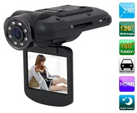"F8000 Car DVR Full HD real 1080 30fps 2.0"" LCD CMOS Ambarella 5.0MP Car Camera Camcorder 120 Degree HDMI Russian"