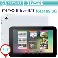 Original PiPo U3T Ultra-U3T 3G Phone Call Tablet PC 7 inch IPS 1280x800 RK3188 Quad Core 1.6GHz 16GB Rom Bluetooth WCDMA