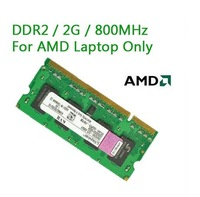 Brand DDR2 2G 800Mhz Laptop RAM,Notebook memory card,,Just Compatible with AMD Free Shipping