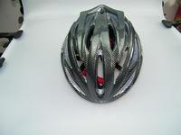 SWODART  2014 New Comfortable Bike Cycling Sports Safety Bicycle 27 Holes Adult Men Helmet with Visor Black