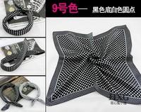 Small Facecloth 52cm x52cm Small Square Scarf Men Dress Cravat Headbad Bandanas Women Scarf Accessory