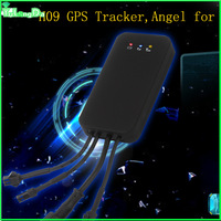 SOS GPS Tracker With Moving Alarm/Vibration Alarm/Battery for Power cut off Alarm,ACC&Talking Function as Car Security