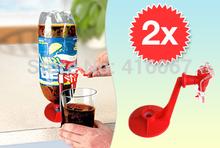 2pcs/lot не розничной упаковки питьевой соды обойтись гаджет холодильник fizz saver распределитель воды машины кокса cola напитки(China (Mainland))