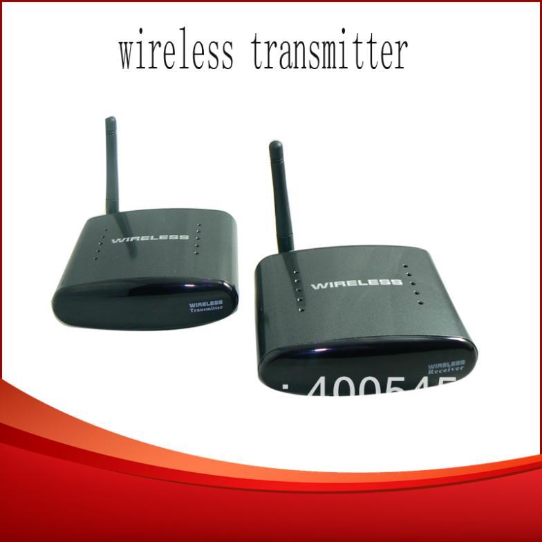 250m 2.4G Wireless A/V TV Transmitter Receiver AV Wireless sender IR Remote Extender Free Shipping(China (Mainland))