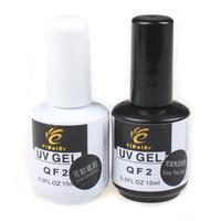 Pro 15ml Soak Off   Base Coat & Top Coat For Nail Art Soak Off UV Nail Gel Set