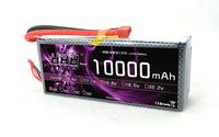 14.8V 10000mAh 25C Max 40C 4S RC LiPo Li-Poly Battery  For Airplane Model Free Shipping
