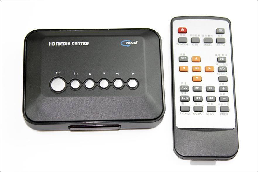 720p HD Media Center Movie RM/RMVB/AVI/MPEG/MKV/MP4 tv hd media video player Box USB SD/MMC(China (Mainland))