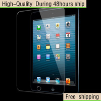 High Quality Scratch Resist Tempered Glass Screen Protector For Apple iPad 2 3 4 Free Shipping DHL HKPAM CPAM