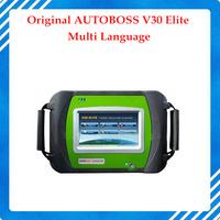 100% Original AUTOBOSS V30 Elite Super Scanner Update Online English/Spanish/Russian High quality free shipping