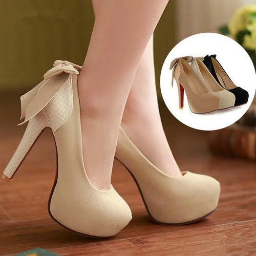2014 fashion platform pumps sexy high-heeled shoes thin heels round toe platform shoes women's Wedding Shoes(China (Mainland))