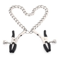 Fantasy Nipple Clamps Breast Clamps with Metal Chain