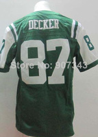 #87 Eric Decker Jersey,Elite Football Jersey,Best quality,Authentic Jersey,Embroidery Logo,Size M--3XL,Can Mix Order