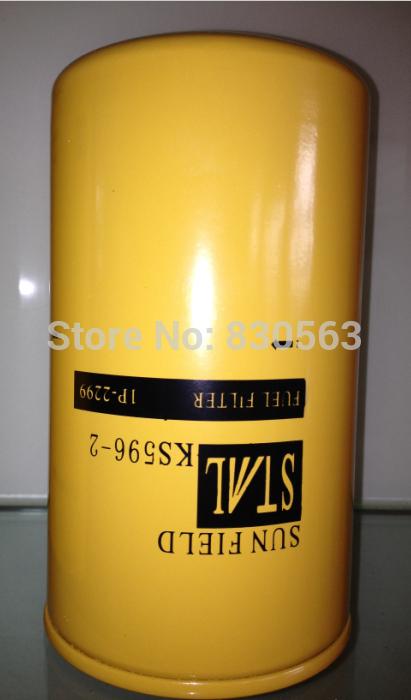 Free Shipping 1P2299 Donaldson Fuel Filter Fleetguard Oil Filter(China (Mainland))