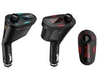 Luxury Remote Car Kit MP3 Player Wireless FM Transmitter Modulator USB SD MMC LCD remote control