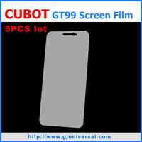 Free shipping  Cubot GT99 Screen Film Cubot P5 Screen film for Cubot GT99 Transparent Clear Screen Film Protector Guard