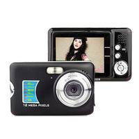 Digital CMOS Camera DC520 12MP 8X Digital Zoom 2.7 inch LCD 12.0 MP Anti-shake Black Colour