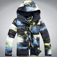 National shipping Men waterproof ski suits snowboard clothing(China (Mainland))