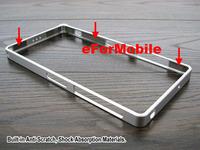 0.7mm Ultra Thin Aluminum Metal Bumper Case Buckle Closure Mobile Phone Bumper for Sony Xperia Z2 D6503