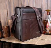 Free Shipping New Arrived leather men bag fashion men messenger bag business shoulder bag
