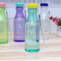 Multifunctional Travel Portable Leak-Proof Plastic Bottle Soda Bottle Series 550ml