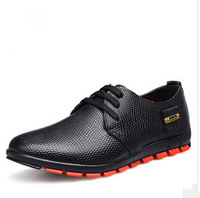 The new men's business casual leather men's shoes wholesale shoe serpentine shoes outlet