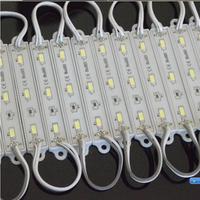 5630 3 LED Modules Warm White Waterproof IP68 DC12V Character Module Free Ship