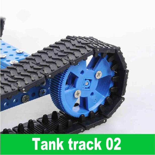 DIY model making Technology making accessories Wheels Track Tank track 02 Free Shipping 10pcs(China (Mainland))